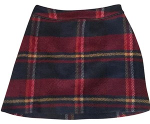 Abercrombie & Fitch Mini Skirt navy blue multi
