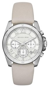 Michael Kors Michael Kors brecken leather chronograph watch