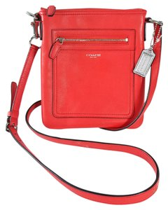 Coach Leather Legacy Swingpack Cross Body Bag