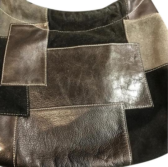 Preload https://img-static.tradesy.com/item/20768615/franco-sarto-black-gray-variations-leather-hand-bag-with-various-leather-detailed-0-11-540-540.jpg