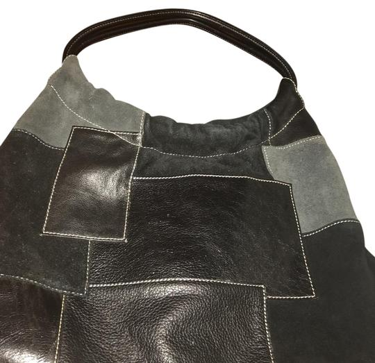 Franco Sarto Beautiful leather hand bag with various leather detailed Image 2