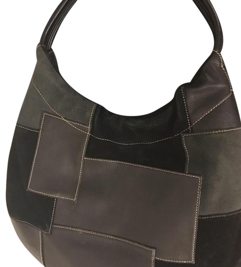 Franco Sarto Beautiful leather hand bag with various leather detailed Image 3
