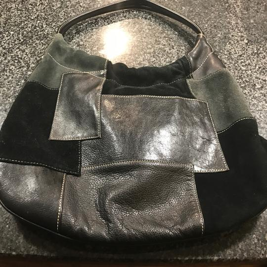 Franco Sarto Beautiful leather hand bag with various leather detailed Image 5