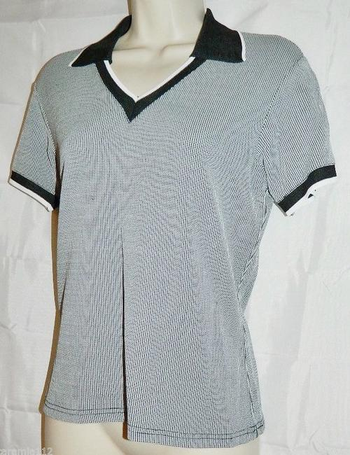 A-Line By Anne Klein Polo Shirt Shirt Sweater Image 1