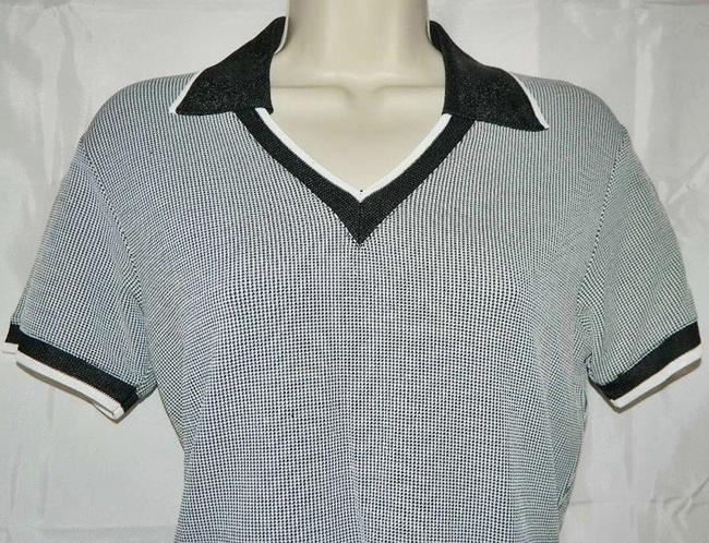 A-Line By Anne Klein Polo Shirt Shirt Sweater Image 2