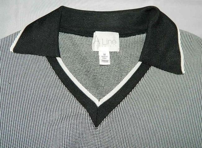 A-Line By Anne Klein Polo Shirt Shirt Sweater Image 4