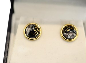 Frey Wille EARRINGS CABOCHON Hommage a Gustav Klimt