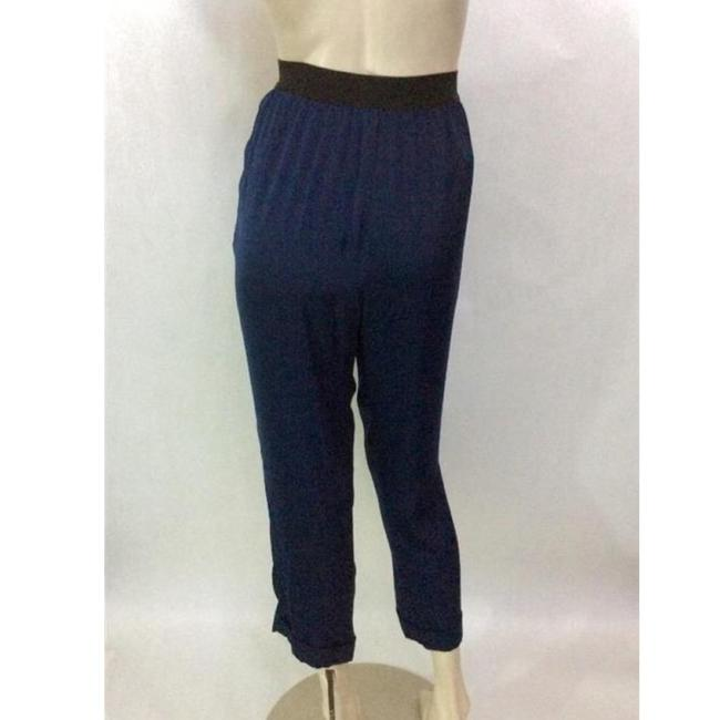 BCBGMAXAZRIA Relaxed Pants Blue Image 1