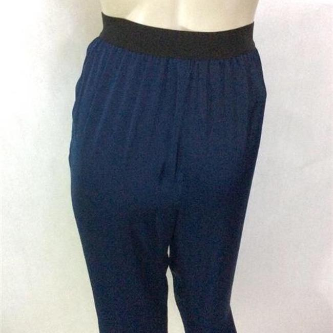 BCBGMAXAZRIA Relaxed Pants Blue Image 2