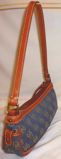 Dooney & Bourke Refurbished Monogram Jacquard Small Shoulder Bag Image 3