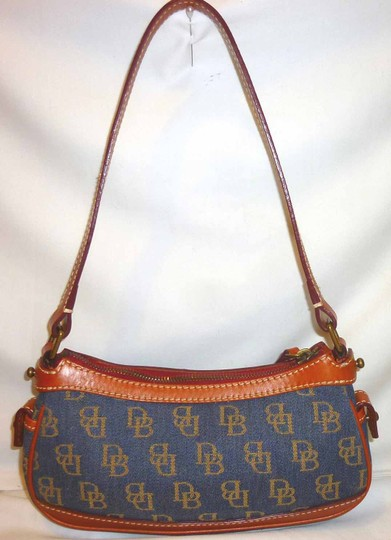 Dooney & Bourke Refurbished Monogram Jacquard Small Shoulder Bag Image 5