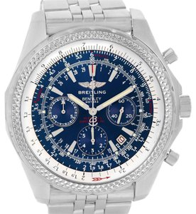Breitling Breitling Bentley Motors Blue Dial Chronograph Mens Watch A25362