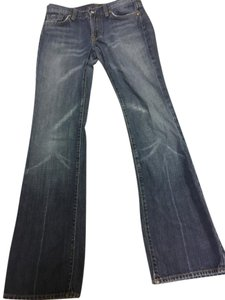 7 For All Mankind Medium Wash 100% Cotton Boot Cut Jeans-Medium Wash
