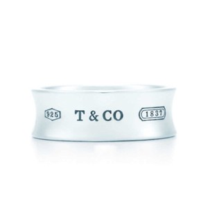 Tiffany & Co. Tiffany & Co. 1837 Ring Sterling Silver Size 7