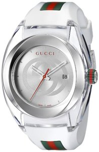 Gucci Gucci Sync XXL White Rubber Unisex Watch YA137102