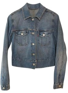 Levi's blue (denim) Womens Jean Jacket