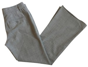 Express Trouser Pants Grey, Gray, White