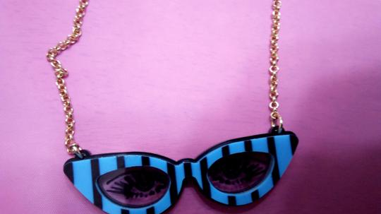 Betsey Johnson Betsey Johnson Cat Eyes Glasses Image 1