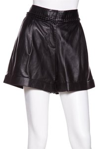 Tory Burch Cuffed Shorts Black