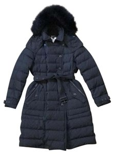 Burberry Brit Allerdale Fur Hooded Quilted Down Coat