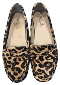 Michael Kors Loafer Calf Hair Leopard Flats