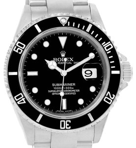 Rolex Rolex Submariner Steel Black Dial Automatic Mens Watch 16610 Year 2004