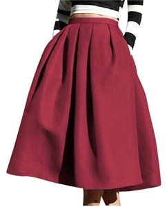 Face N Face Skirt wine red