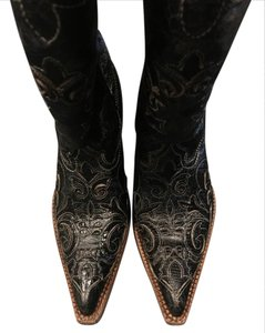 Corral Boots Corral Lizzard Vintage Black Boots