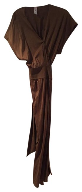 Item - Chocolate Brown Long Casual Maxi Dress Size 4 (S)