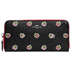Coach *NEW* Cherry Accordian wallet