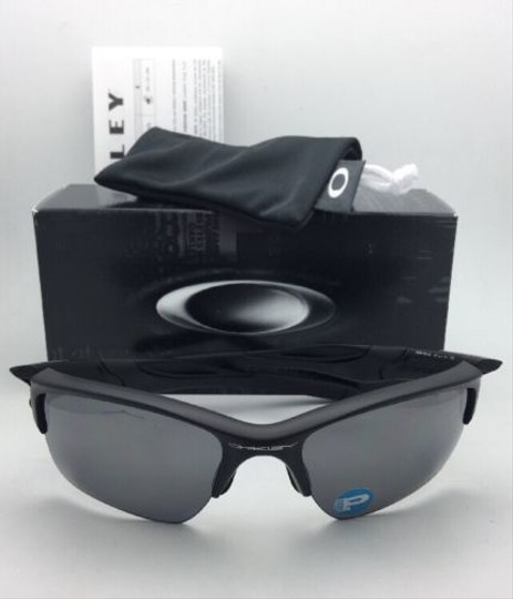 Oakley Polarized OAKLEY Sunglasses HALF JACKET 2.0 XL OO9154-46 Matte Black Image 10