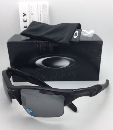 Oakley Polarized OAKLEY Sunglasses HALF JACKET 2.0 XL OO9154-46 Matte Black Image 3