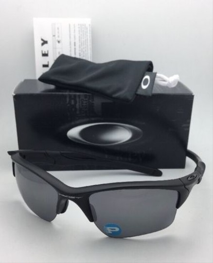 Oakley Polarized OAKLEY Sunglasses HALF JACKET 2.0 XL OO9154-46 Matte Black Image 6