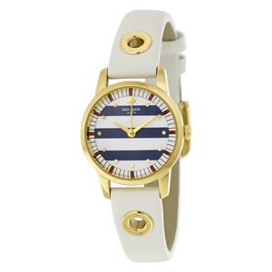Kate Spade Kate Spade Mini Metro White Leather Ladies Watch KSW1136