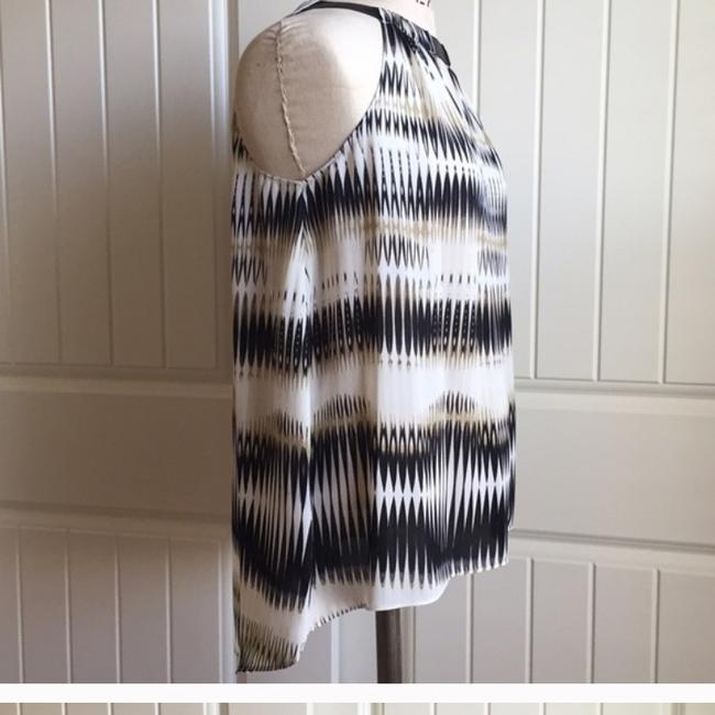 Vince Camuto Top Black, white Image 2