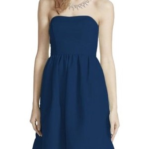 David's Bridal Marine Faille Dress Dress
