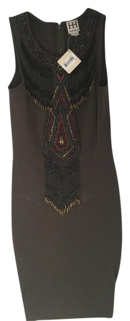 Haute Hippie Beaded Bodycon Dress Image 0