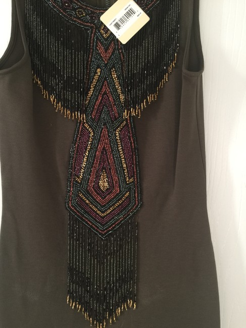Haute Hippie Beaded Bodycon Dress Image 1