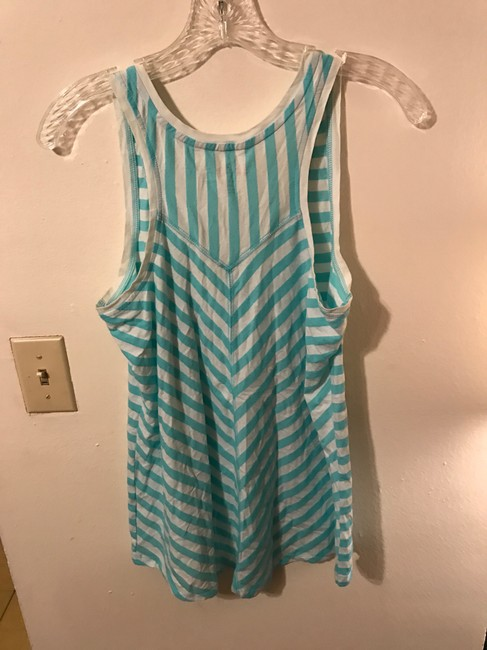 Lilly Pulitzer Racer-back Casual Top Blue Image 3