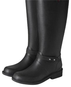 Rag & Bone Black with Silver tone hardware Boots
