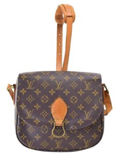 Louis Vuitton Saint Cloud Gm Monogram Cross Body Bag