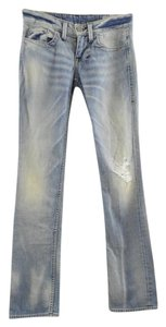 William Rast Macys Nordstroms Straight Leg Jeans-Distressed
