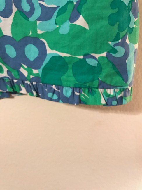 Lilly Pulitzer Callie Bee In Your Bonnet Mini Skirt Blue, green, white Image 1