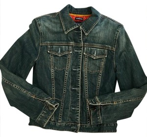 Gap indigo Womens Jean Jacket