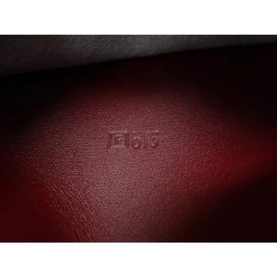 Hermès hermes burgundy leather agenda cover notebook diary day planner Image 9