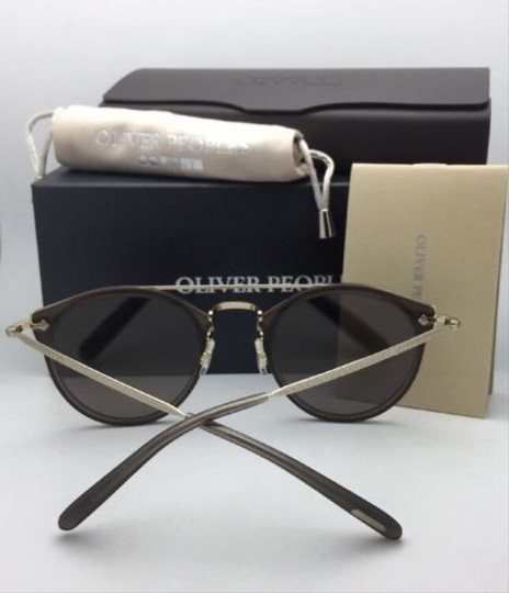 Oliver Peoples OLIVER PEOPLES Sunglasses REMICK OV 5349S 14736G Taupe & Gold w/Mirror Image 5