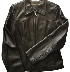 Guess brown Leather Jacket