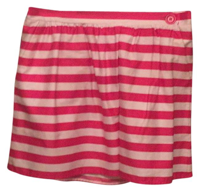 Preload https://img-static.tradesy.com/item/20769994/lilly-pulitzer-hot-pink-and-white-miniskirt-size-12-l-32-33-0-1-650-650.jpg
