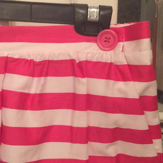 Lilly Pulitzer Mini Skirt Hot pink and white Image 2