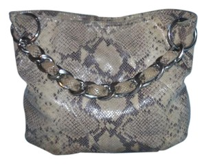 Michael Kors Snakeskin Mk Hobo Bag